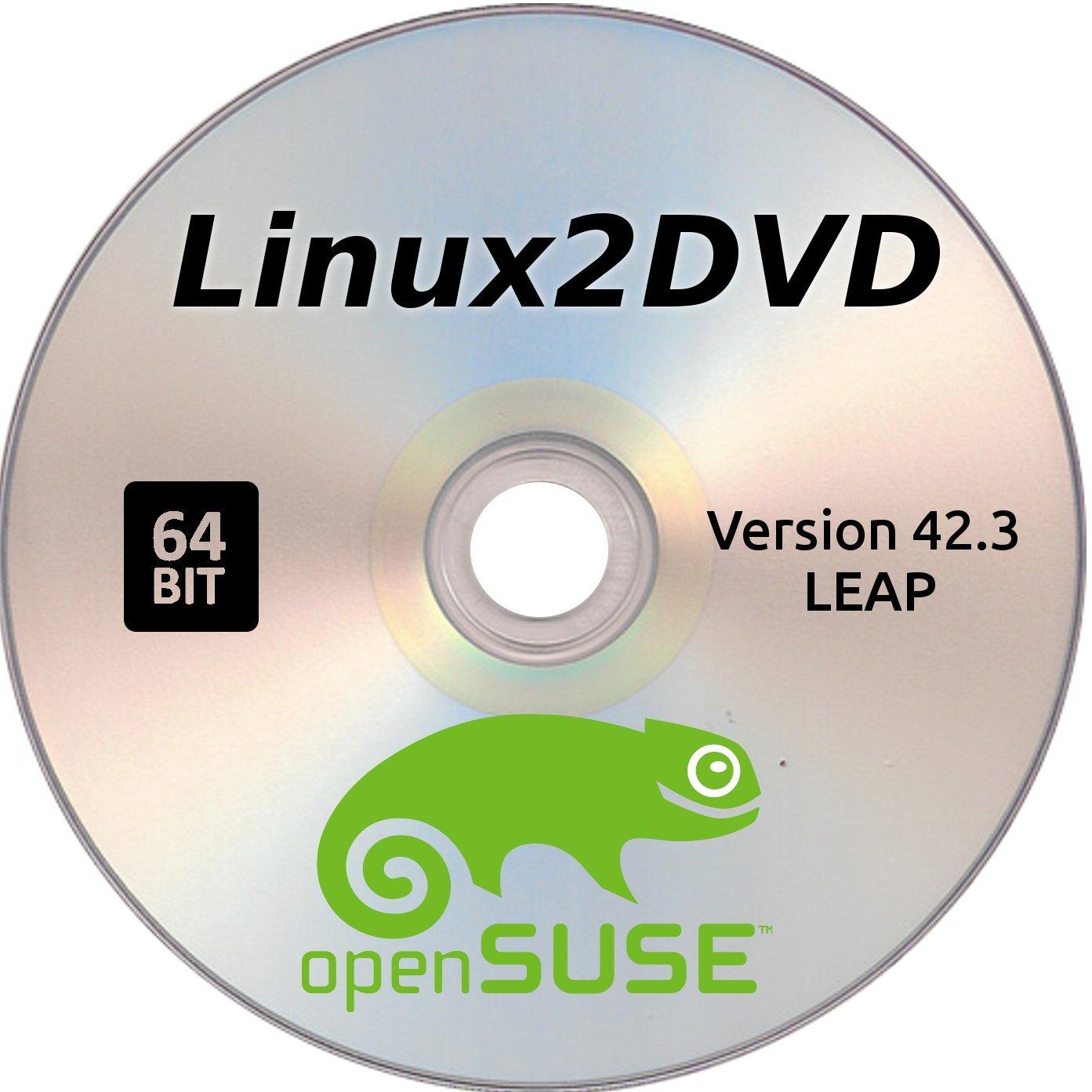 Amazon com: openSUSE Leap version 42 3, SuSE 64 Bit Linux OS