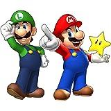 Stickersnews - stickers autocollant Mario et Luigi réf 15032 Dimensions - 30 cm