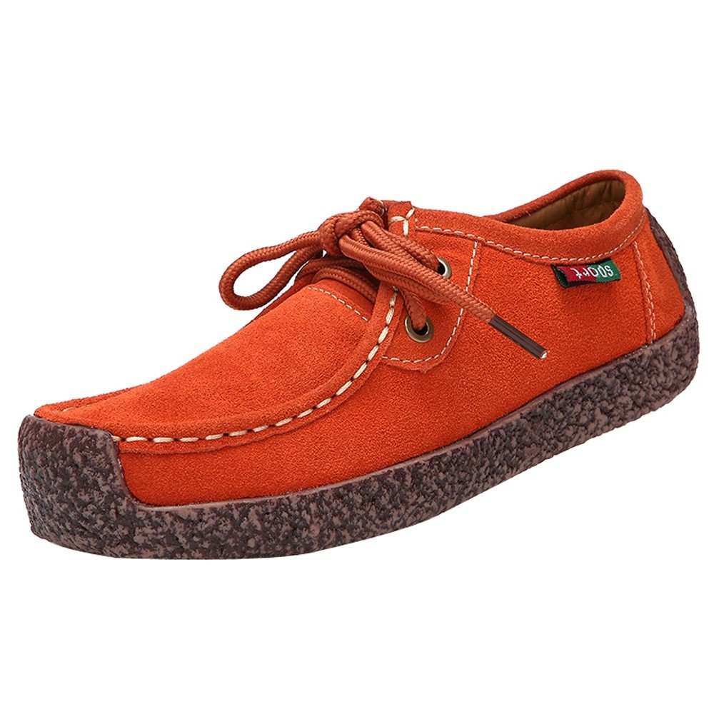 Sneakers Femme, Yesmile Mode Femmes Fond Femme, Plat Orange Anti-dérapant Mode Bas Sangle Loisirs Sneakers Peas Chaussures Orange 893d8f0 - latesttechnology.space