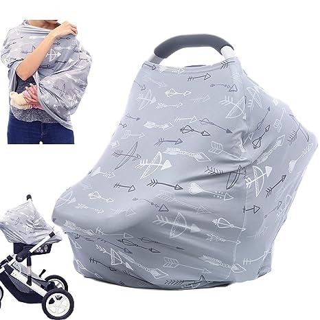 Amazon.com: Cubierta de lactancia para asiento de coche ...