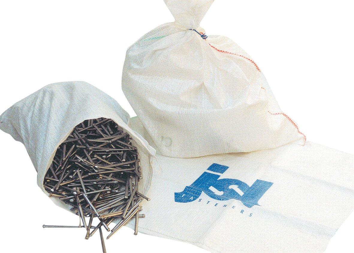 Swiftpak 500 x 750mm White Woven Polypropylene Sack Pack of 50