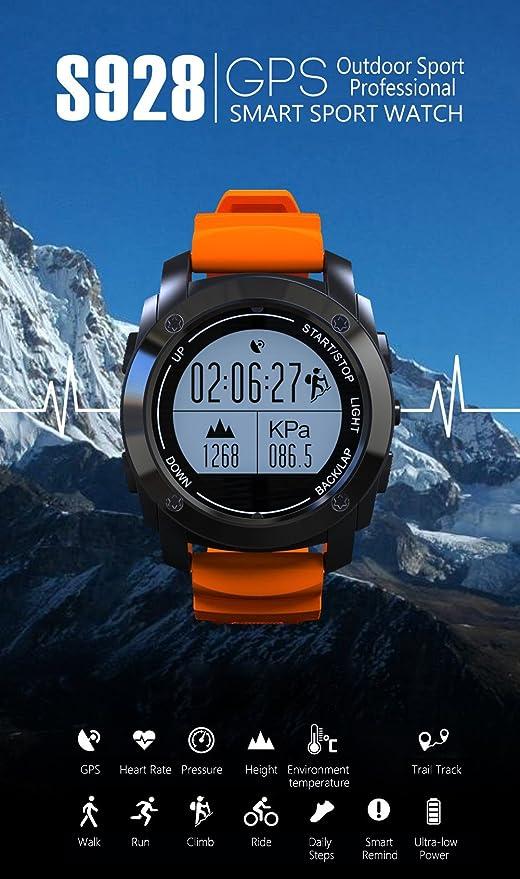 GooPhone S928 GPS en Tiempo Real corazón Reloj Inteligente ...