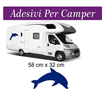 new release low cost quality Amazon.fr : Sticker dauphin pour camping-cars, roulottes et ...