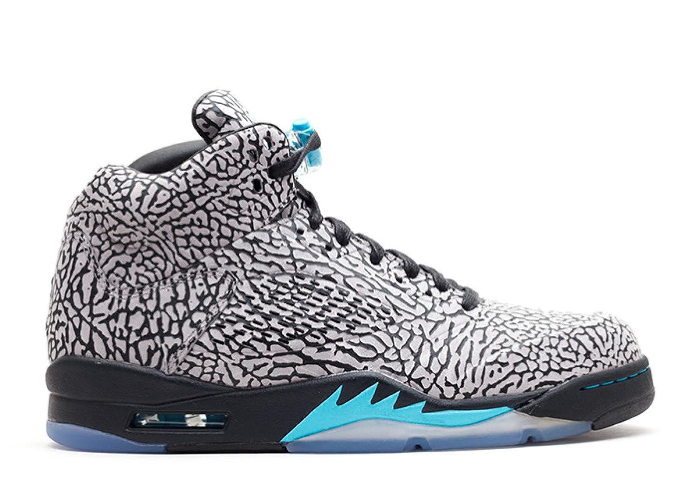 sports shoes 57580 20b70 Amazon.com   Jordan Air 3Lab5 Men s Basketball Shoes Cement Grey Gamma  Blue-Black 599581-007   Basketball