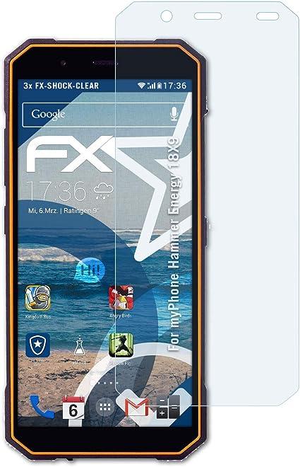 atFoliX Antichoque Película Protectora para myPhone Hammer Energy ...