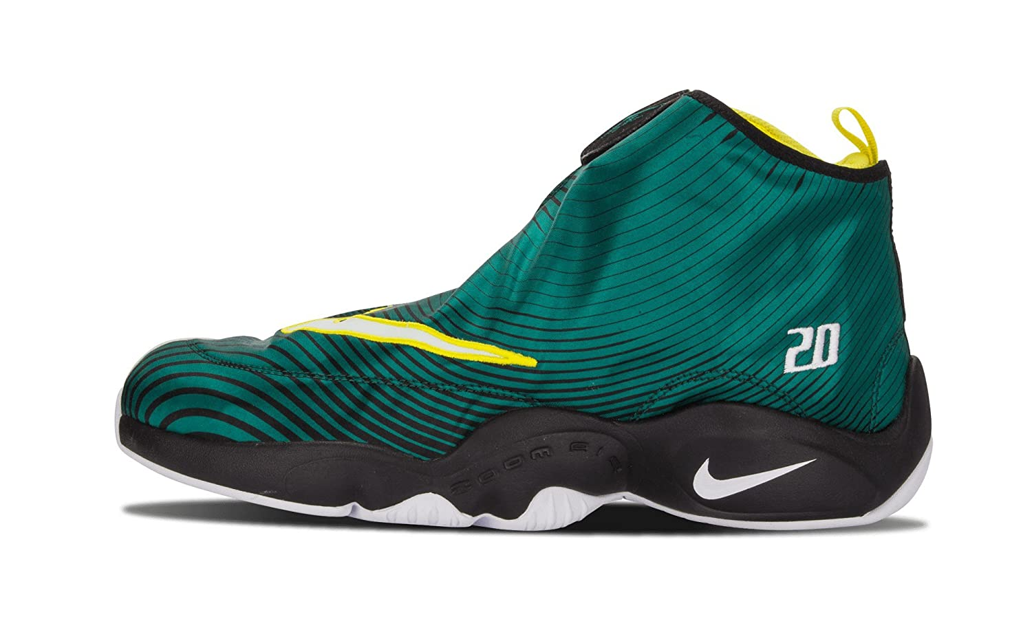 new style 52695 34d18 Amazon.com   Nike Mens Air Zoom Flight The Glove QS Gary Payton Fabric  Basketball Shoes   Shoes