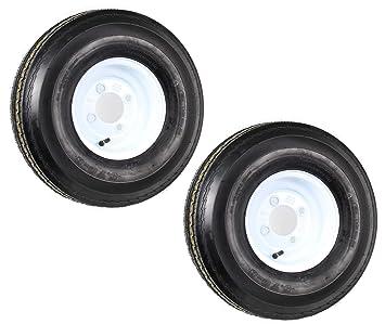 Amazon.com: Dos remolque neumáticos y llantas 5,70 – 8 570 ...