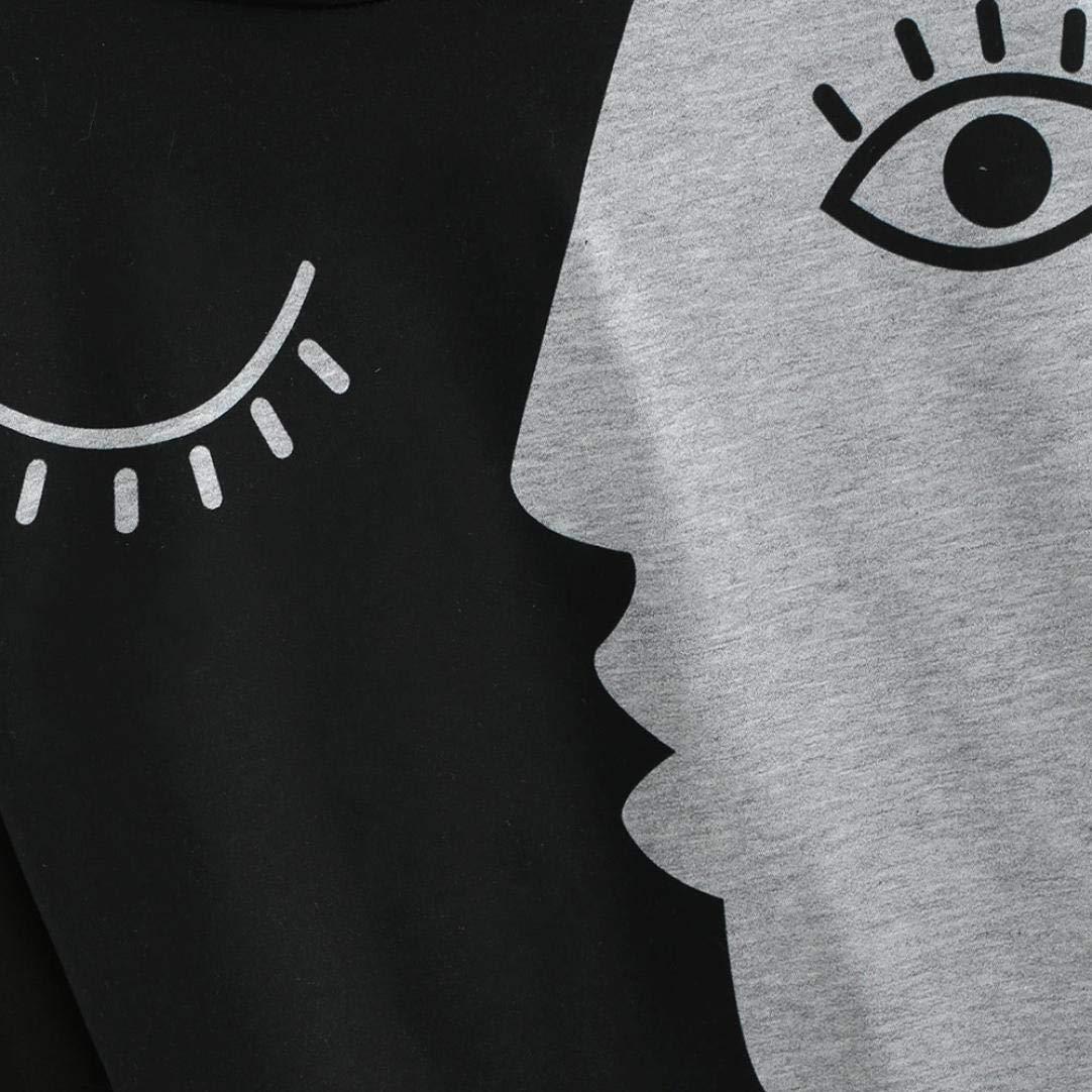 Mujer Blusa sudaderas tops otoño casual urbano streetwear,Sonnena Sudadera para mujer Blusa de Patchwork de manga larga con capucha Sudaderas con capucha: ...