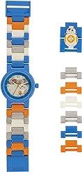 Lego Boys Analogue Quartz Watch with Plastic Strap 8020929