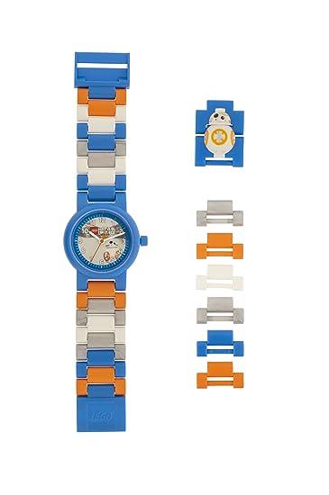 af3790827186 Reloj modificable infantil con figurita de BB-8 de LEGO Star Wars 8020929   Amazon.es  Relojes