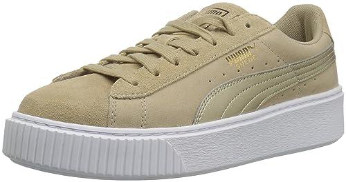 Puma Women s Suede Platform Safari Wn Sneaker  Amazon.co.uk  Shoes ... 843f01b27