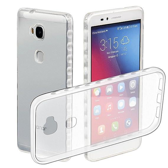 Amazon com: KAWOO Huawei Honor 5X Case Crystal Clear
