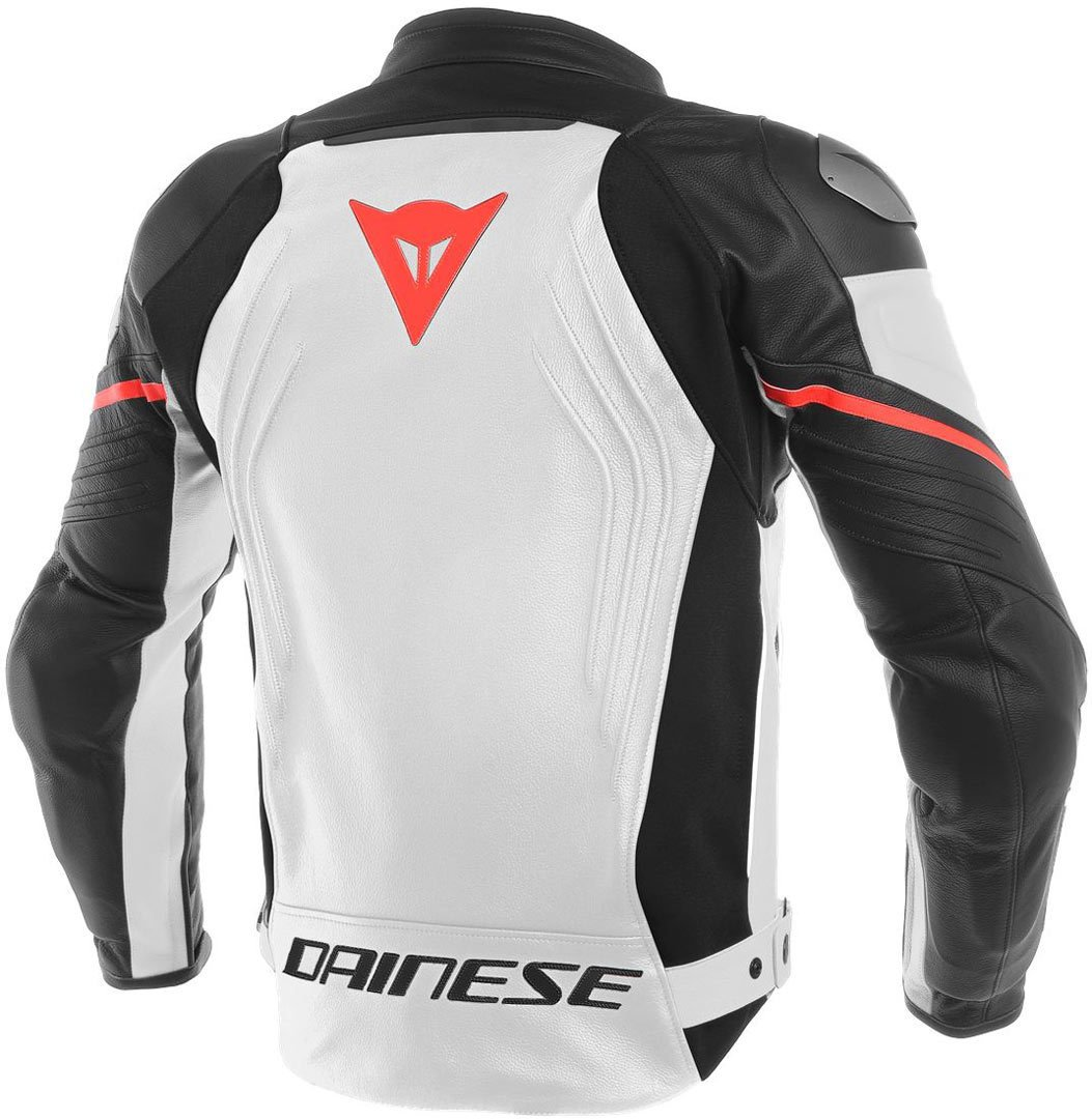 Dainese Racing 3 Leather Jacket (54) (Black/Black/Black)