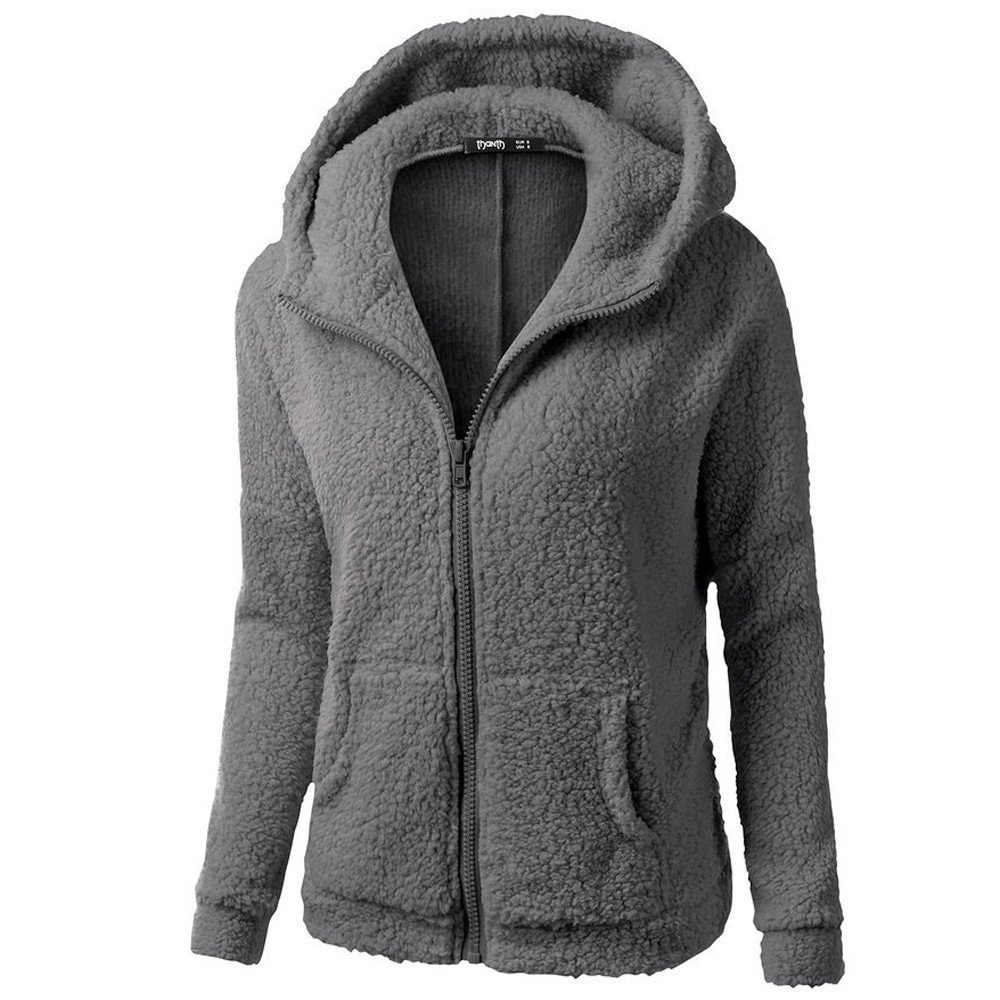 Femme Veste Polaire Zipp/é Sweat-Shirt /à Capuche Manteau Hoodie Chaud Automne Hiver Sweat Manteau Sweatshirt Chaud Sports Pullover Manche Longue Tops Tunique Haut Casual Covermason