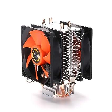 Compacto Multi-compatible Torre CPU Enfriador Computadora de ...
