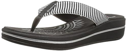 2bb7540fe576c Skechers Women s Upgrades Flip Flop  Amazon.co.uk  Shoes   Bags