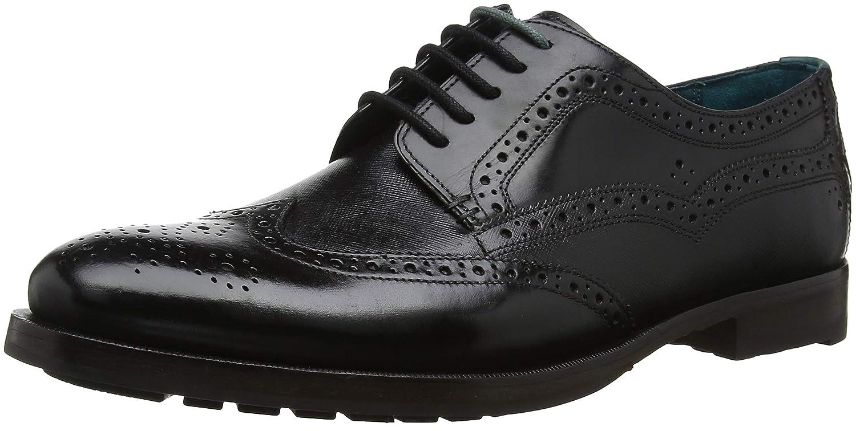 TALLA 39.5 EU. Ted Baker Senape, Zapatos de Cordones Derby para Hombre