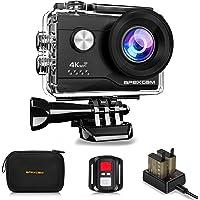 Apexcam 4K 20MP WIFI Action Camera Underwater Waterproof Camera Sports Camera…