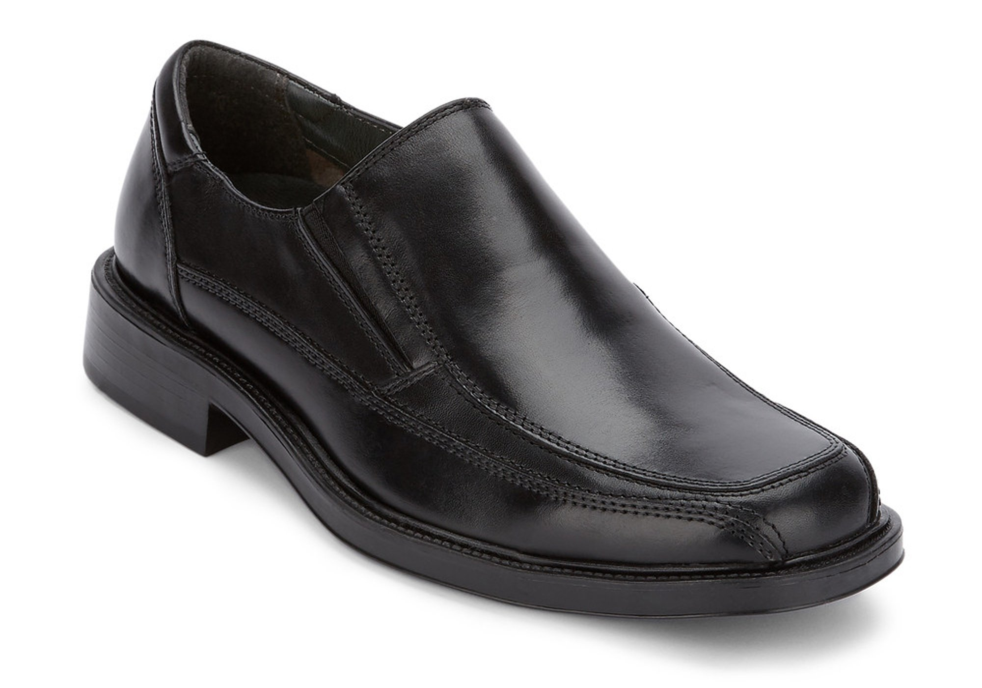 Dockers Men's Proposal Leather Slip-on Loafer Shoe,Black,13 M US