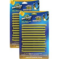 Green Gobbler BIO-FLOW Drain Strips - (Drain Cleaner & Deodorizer) - 4 Packs of 12 each
