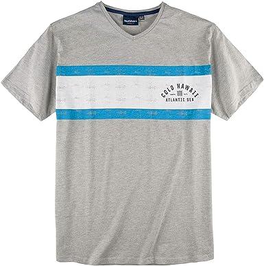Allsize XXL Norte 56°4 Camiseta Estampada Gris Claro mélange: Amazon.es: Ropa y accesorios