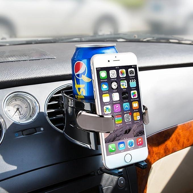 26 opinioni per BESTEK Supporto Cellulare per Auto Universale Supporto a Doppio Uso- Porta