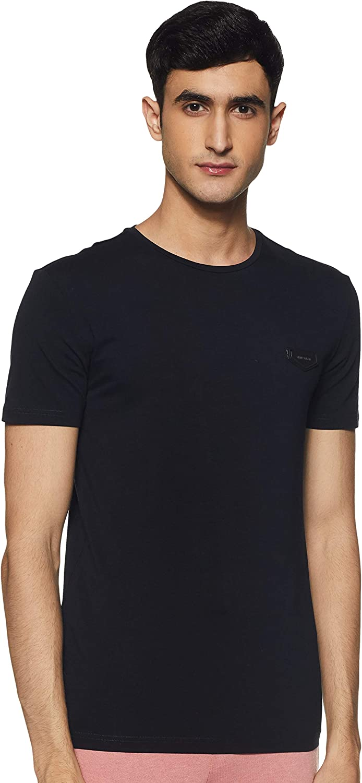 Antony Morato Camiseta Azul Parche para Hombre Medium Azul ...