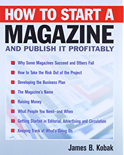 business plan for a magazine