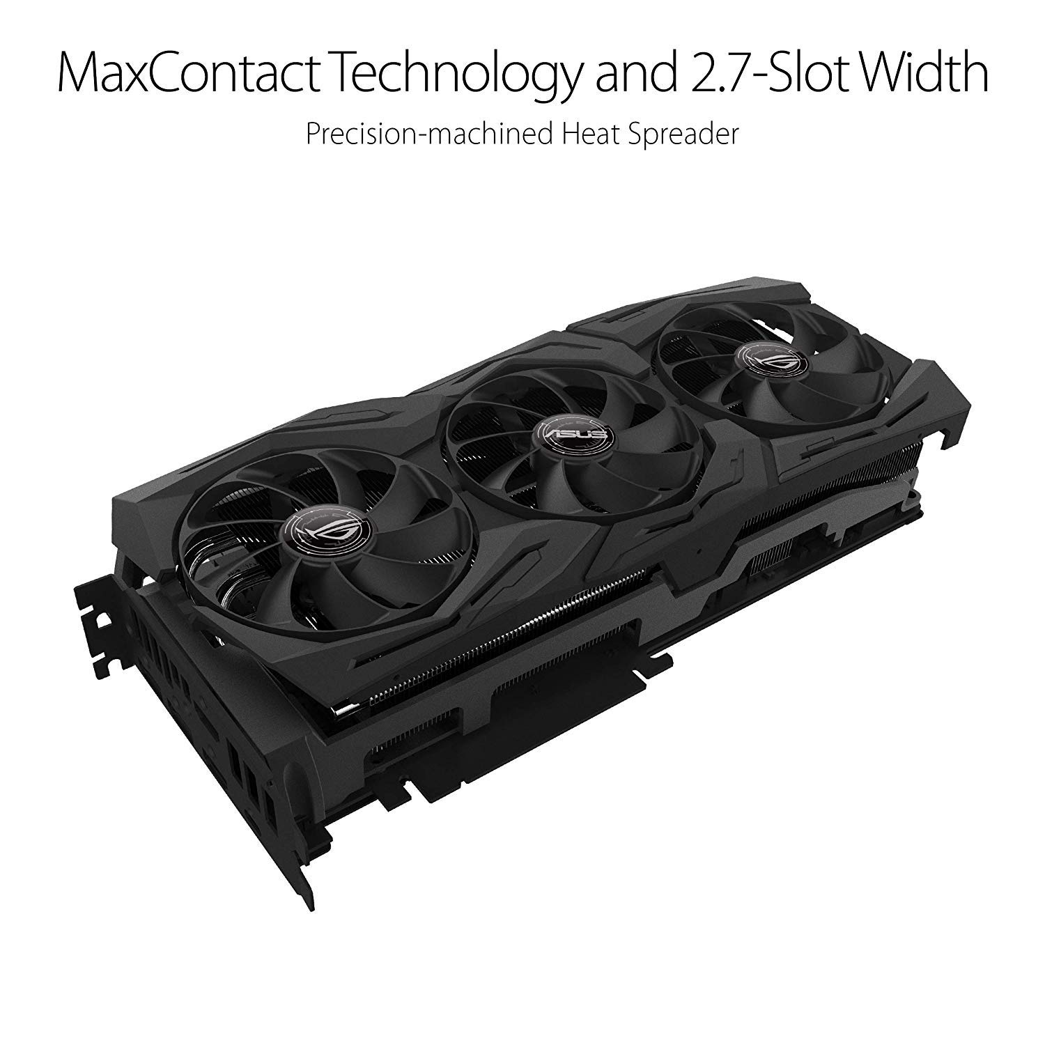 ASUS ROG Strix GeForce RTX 2080TI Overclocked 11G GDDR6 HDMI DP 1.4 USB Type-C Gaming Graphics Card (ROG-STRIX-RTX-2080TI-O11G) by ASUS (Image #2)
