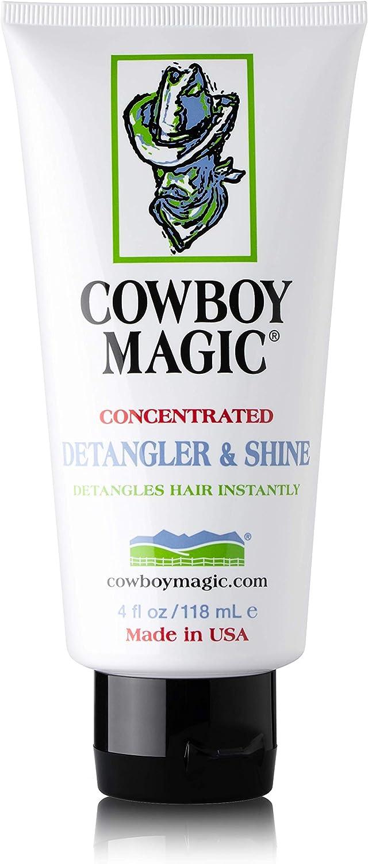 Cowboy Magic Detangler & Shine 4 oz: Pet Supplies