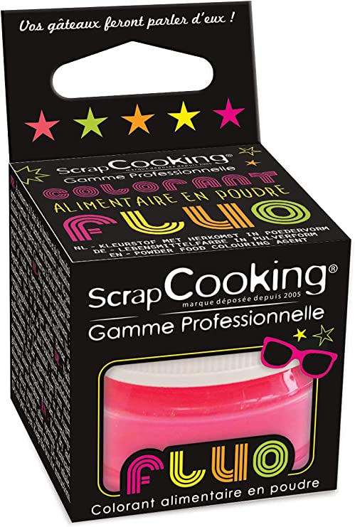 Colorante alimentario en polvo - neón rosa
