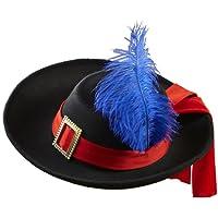 Widmann 0490R - Cappello da Moschettiere, in Feltro Spazzolato, Taglia Unica Bambino