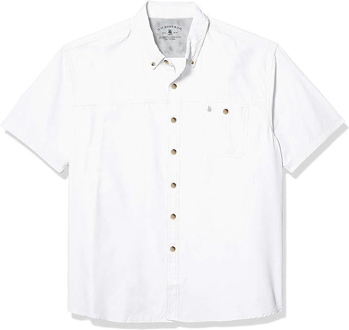 G.H Orange Exuberne He... Bass /& Co Men/'s Explorer Textured Short Sleeve Polo