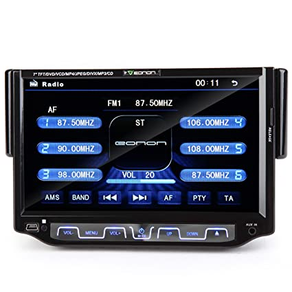 Eonon D1205 7 Single 1 DIN Digital Screen in Dash Car DVD Stereo Player