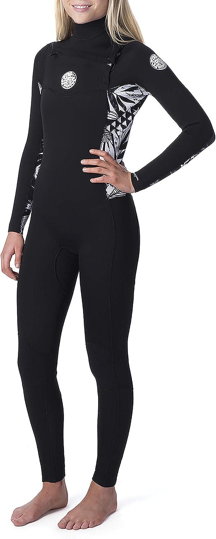 RIP CURL Dawn Patrol Damen Frauen 3//2 mm Steamer Neoprenanzug 2020,Chest Zip