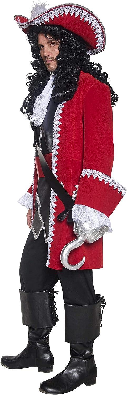 Amazon.com: Disfraz de capitán pirata de Smiffys ...