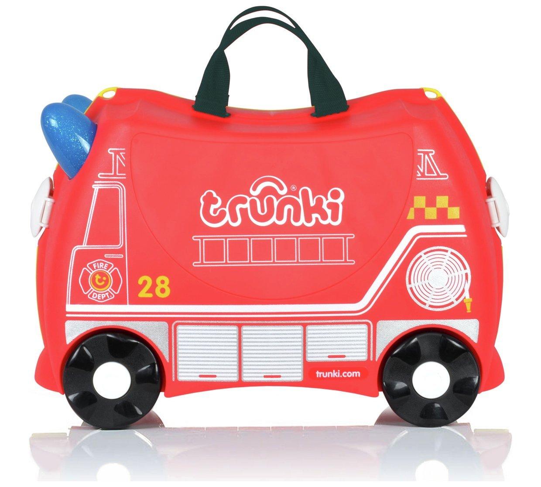 Trunki - Equipaje infantil rojo Red Size H31, W21, D46cm.: Amazon.es: Equipaje