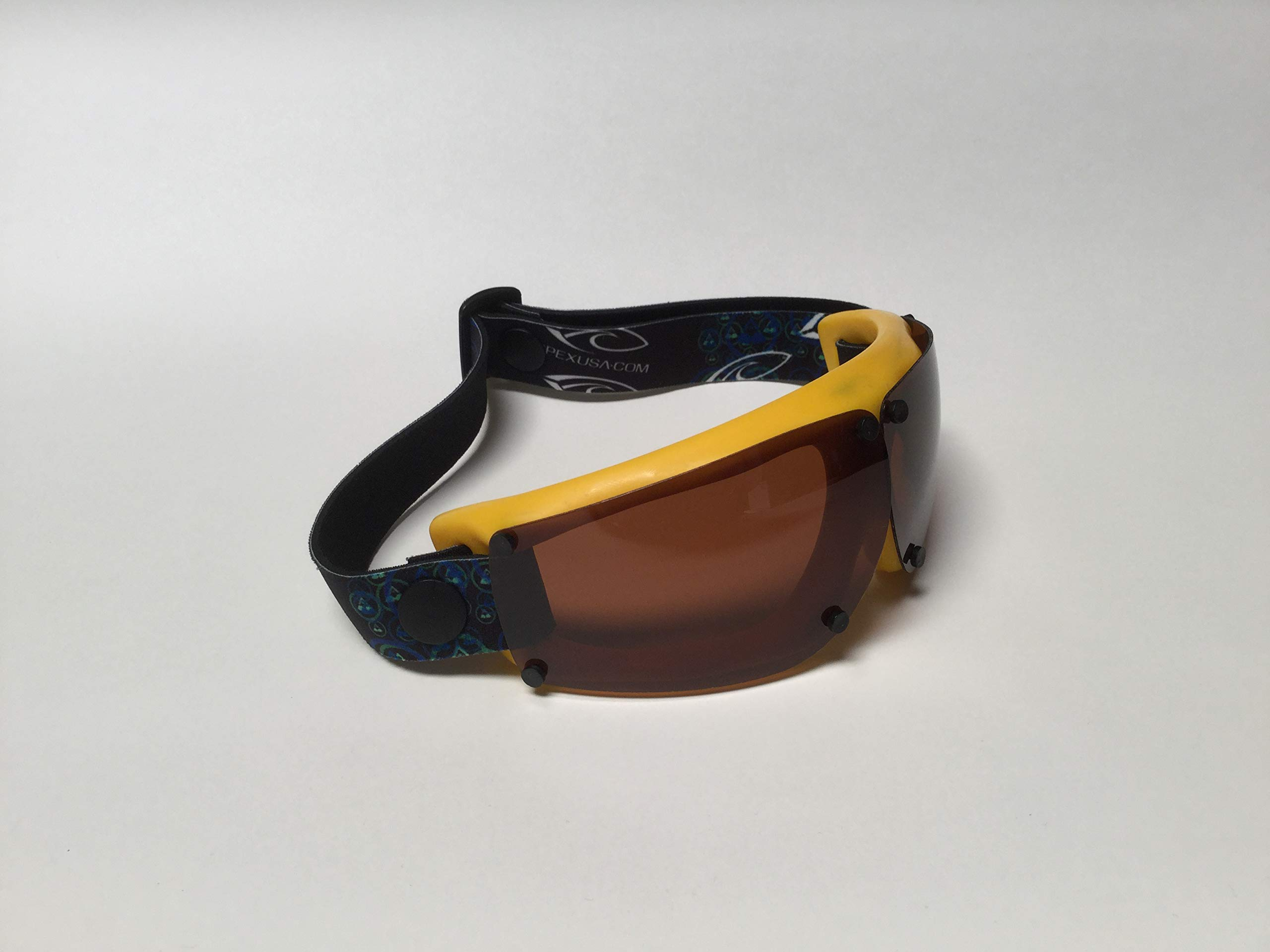Spex Amphibian Eyewear - Limited Edition- Yellow Blend- with Polarized All Weather Lenses