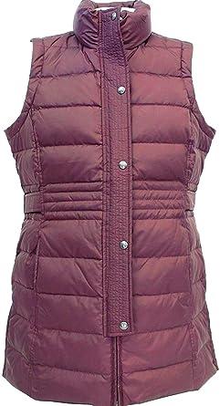 6e52e6b1704ef Weatherproof Ladies  Long Down Vest For Women ~ Wine~ Down Fill at ...