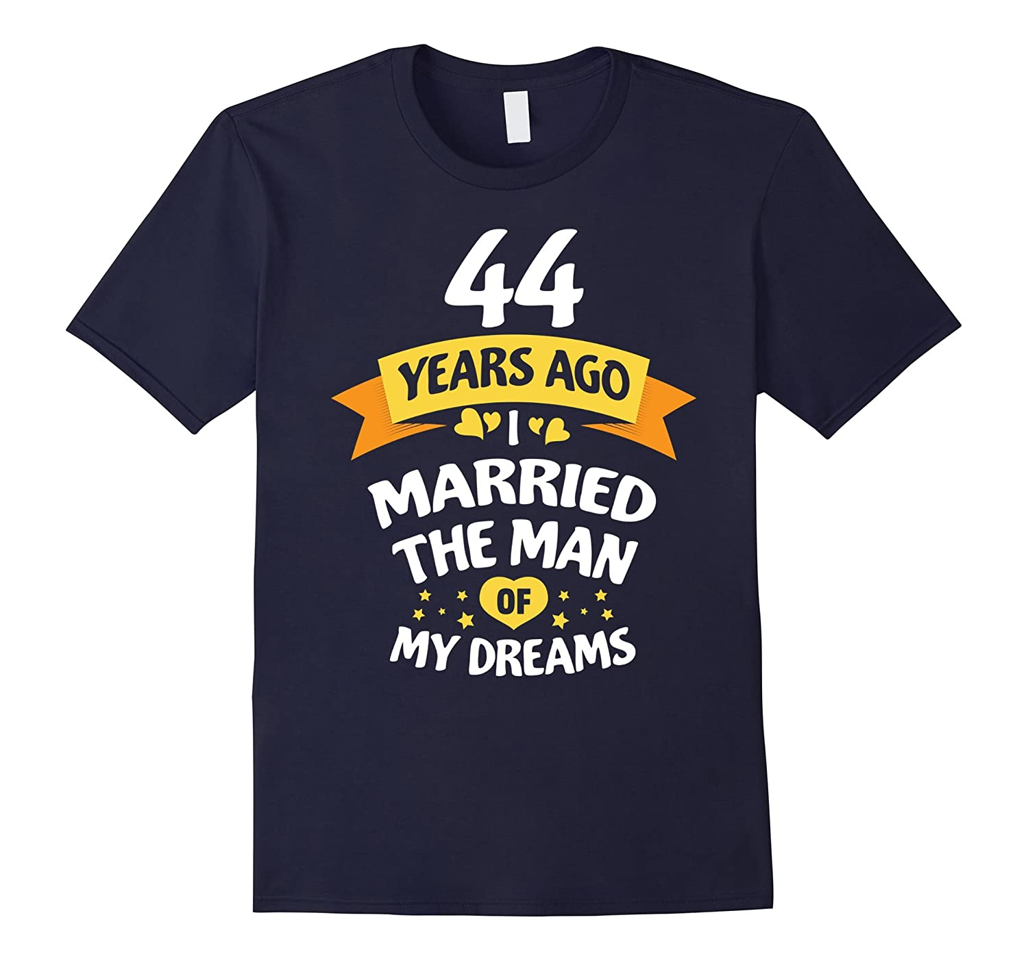 44th Wedding Anniversary Gift for Her – 44 Years T-Shirt