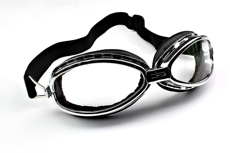 Retro Classic Brille Motorrad-Schutzbrille Custom Copper 5-231