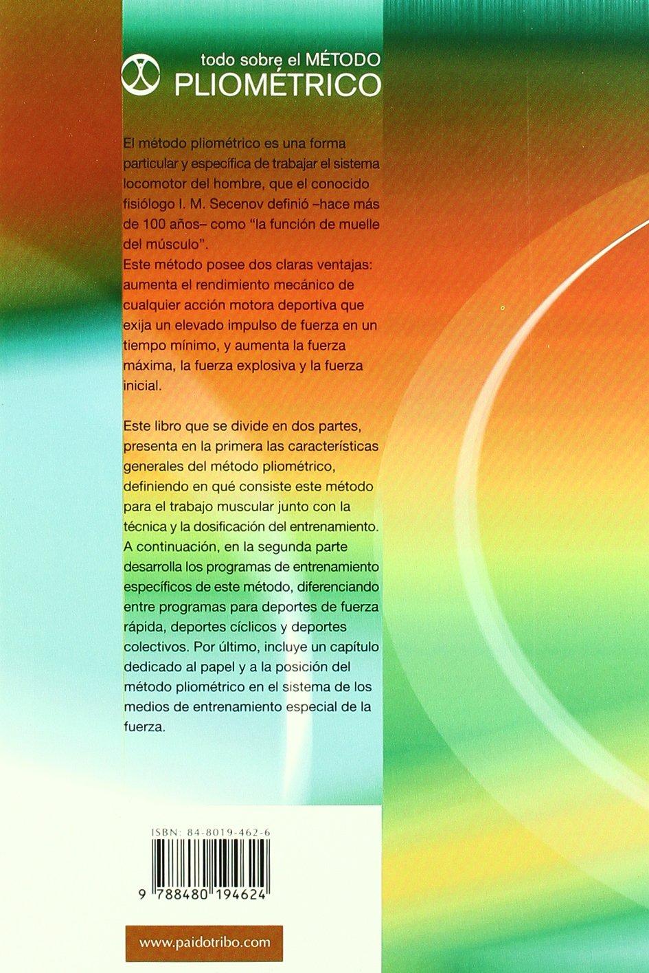 Todo Sobre El Metodo Pliometrico (Spanish Edition): Yury Verkhoshansky: 9788480194624: Amazon.com: Books