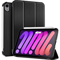 ProCase iPad Mini 6 Case 2021 8.3 Inch, Slim Trifold Stand Hard PC Back Shell Protective Smart Cover Case for 8.3 Inch…