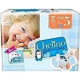 Chelino Fashion & Love Junior - Pañal infantíl, talla 5, 1 pack con 30