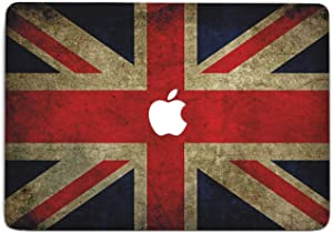 ZizzStore British National Flag MacBook Decal Laptop Skin Protective Sticker for MacBook Protective Notebook Apple Computer Gift Union Jack Vinyl Sleeve (Pro 13 (A1706 & A1708) 2016, T+A)