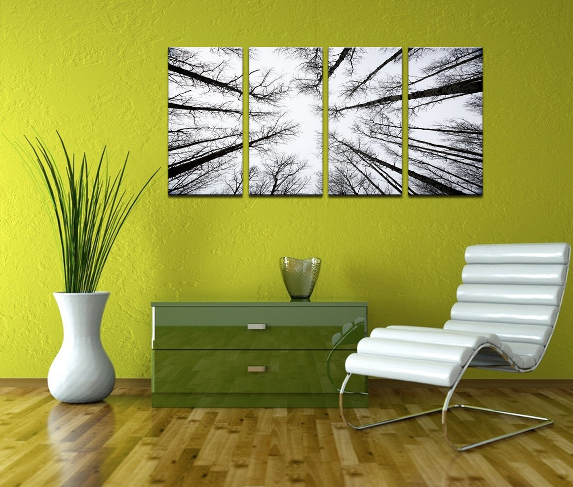 Contemporary Aspen Tree Wall Art Component - Wall Art Collections ...