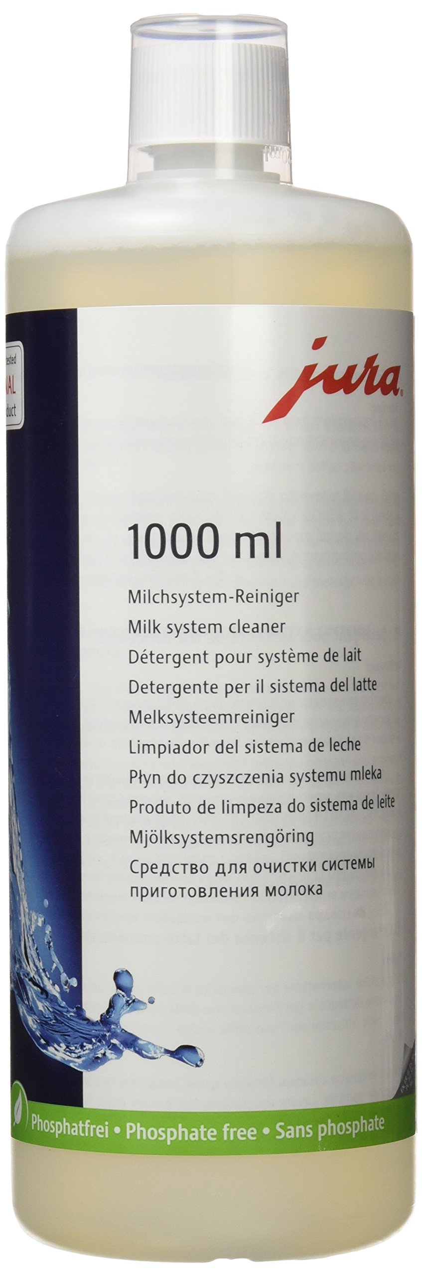 Jura Cappuccino Cleaner for Fully Automatic Machines with Frothing Systems, 1000 mL by Jura (Image #1)