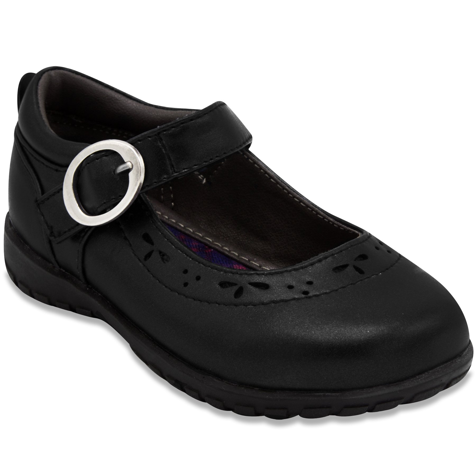 French Toast Girls Gina Flat Mary Jane Oxford School Uniform 9 Black