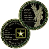 U.S. Army Values Military Soldier Creed Challenge Coin