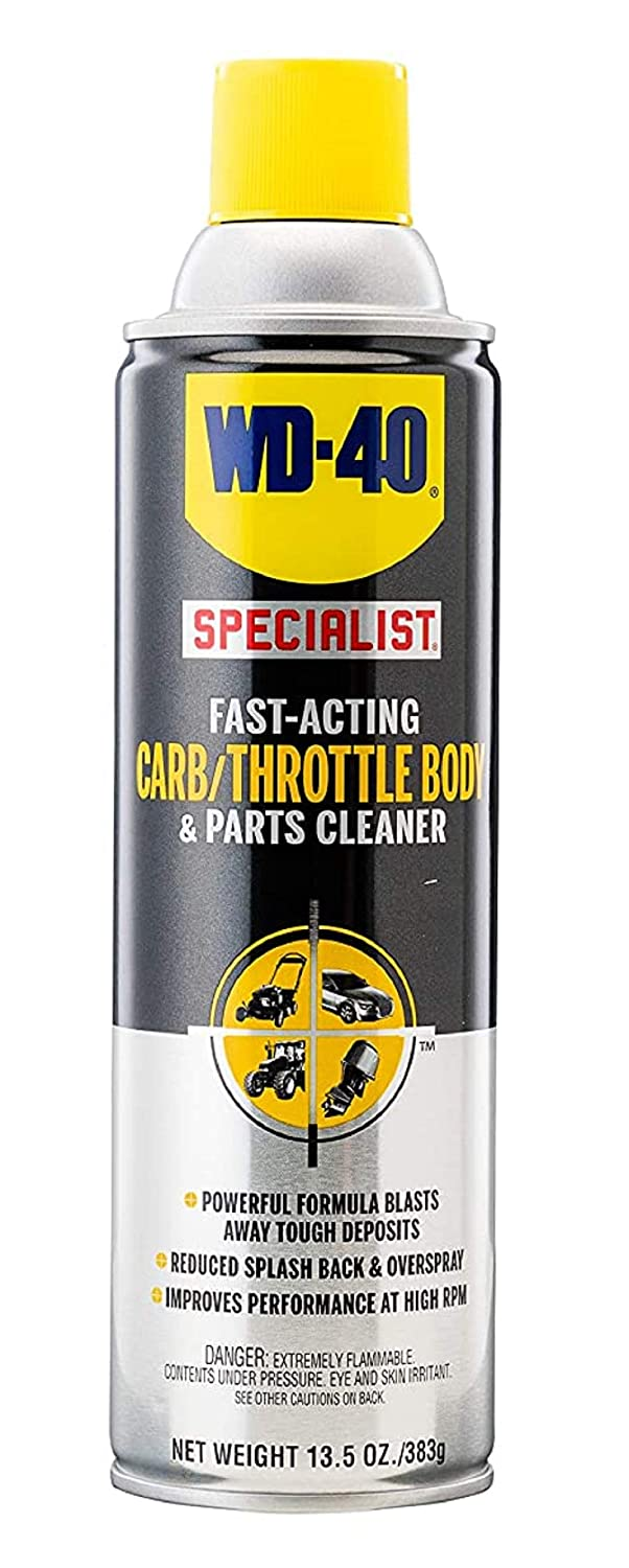 WD-40 Specialist carb cleaner